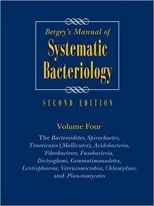 Bergey's Manual of Systematic Bacteriology, Vol. 4